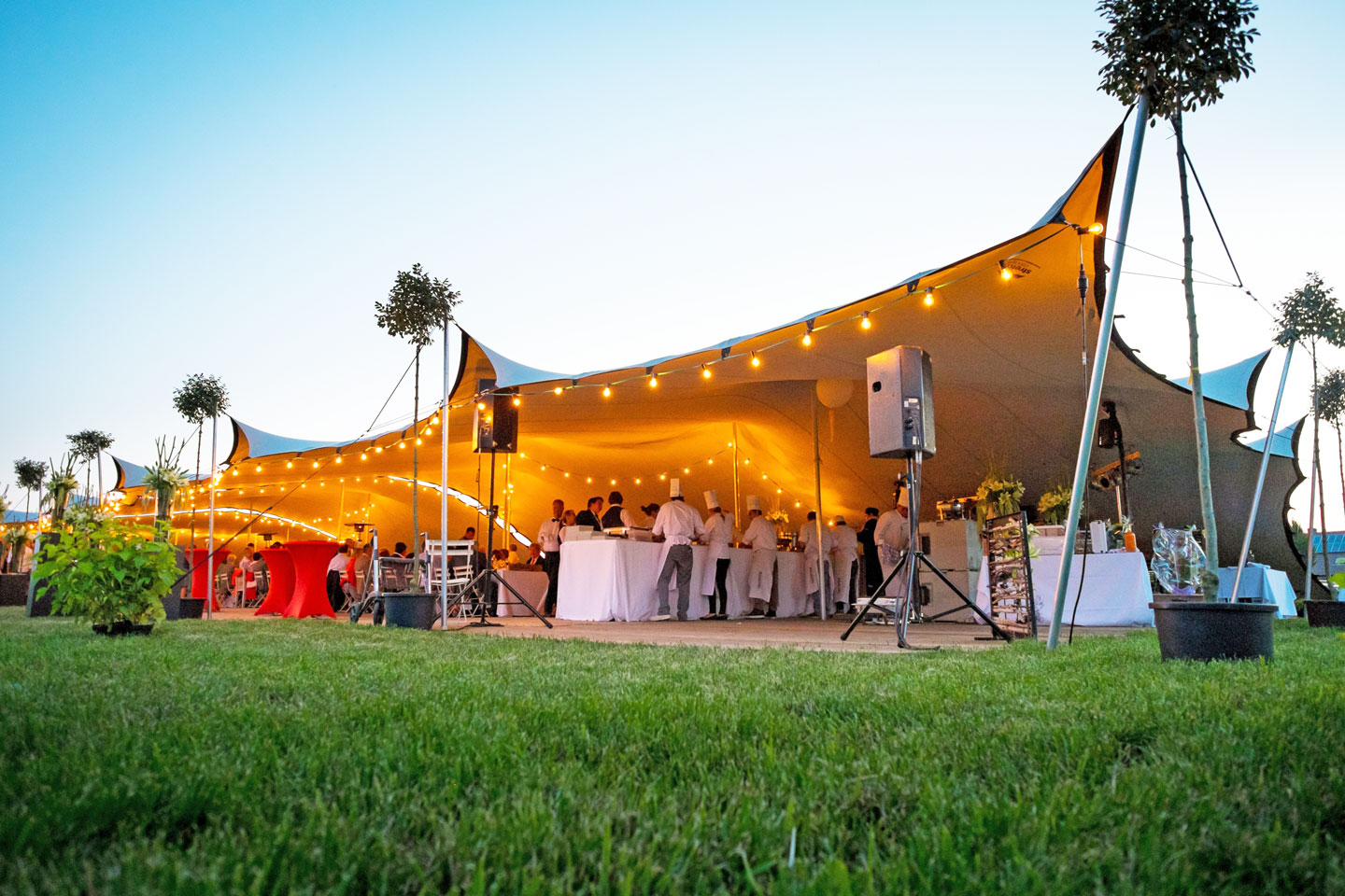 Afon Events Collective - Stretch Tents