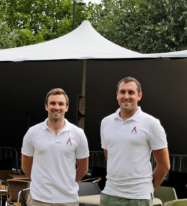 Afon Events Founders Phil and Paul Guest